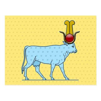 Hathor, Ancient Egyptian Goddess Postcard