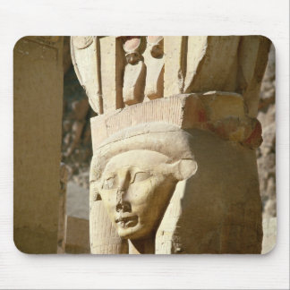 Hathor-headed column, from the Chapel of Mouse Pad