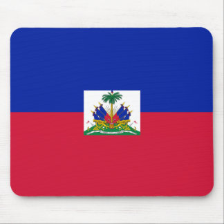Hatian Flag Mouse Pad