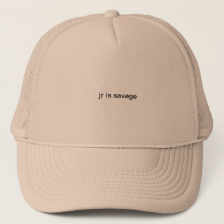 hatkidsavageking trucker hat