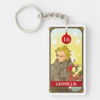 Hatoful Advent calendar 16: Leone J.B. Double-Sided Rectangular Acrylic Key Ring