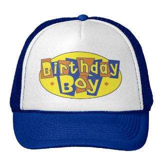 Hats - Birthday BOY