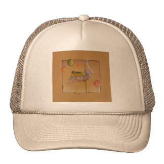 Hats, Caps - Carousel Stork Cap