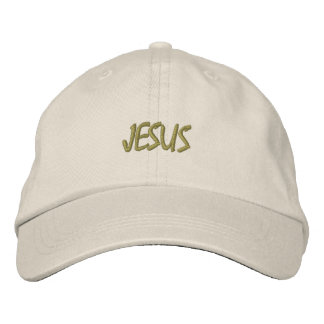 HATS CUSTOM  EMBROIDERED DESIGN JESUS EMBROIDERED BASEBALL CAP