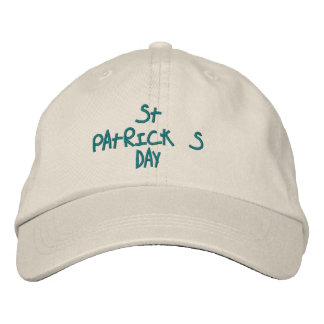 HATS CUSTOM  EMBROIDERED DESIGN ST. PATRICKS EMBROIDERED HAT