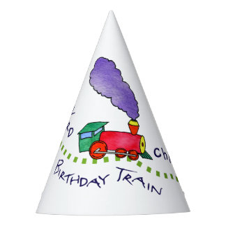 Hats Off to All Aboard the Birthday Train