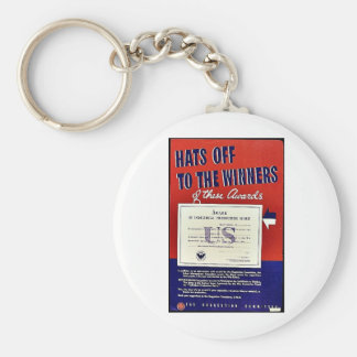 Hats Off To The Winners Of These Awards Keychains