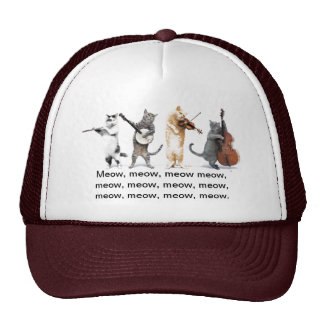Hats / Singing Cats / Meow, Meow , Meow