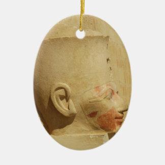 Hatshepsut  Female Pharaoh of Egypt  picture Ceramic Ornament