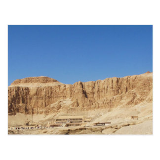 Hatshepsut Temple panoramic photograph Postcard