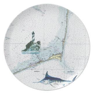 Hatteras Chart Plate