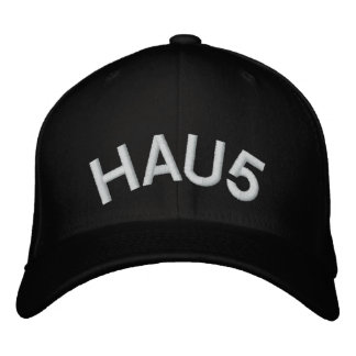 HAU5 EMBROIDERED BASEBALL CAPS