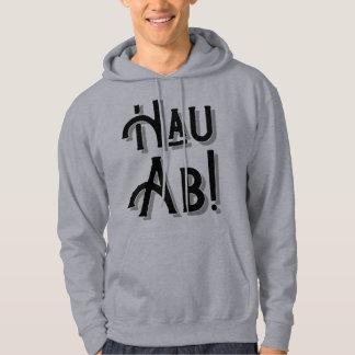 Hau Ab! German Deutschland Slang Hoody