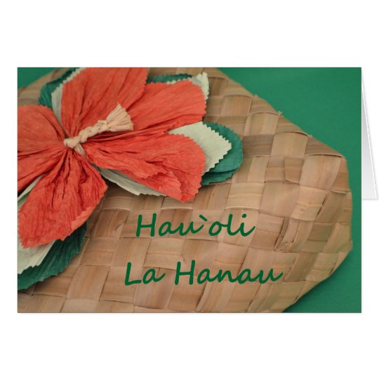 Hau`oli La Hanau Card