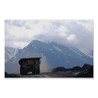 Haul Truck Poster