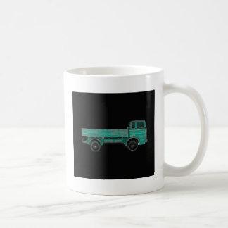 Haulers movers transport vintage toy truck photo basic white mug