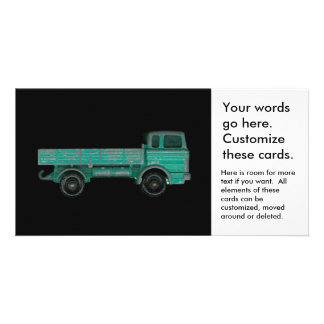 Haulers movers transport vintage toy truck photo picture card