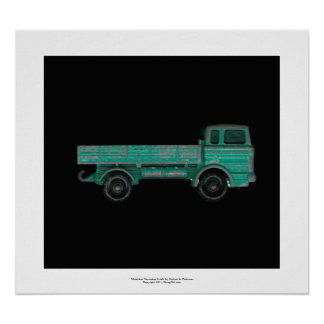 Haulers movers transport vintage toy truck photo poster