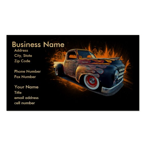 Haulin' Ass Double-Sided Standard Business Cards (Pack Of 100)