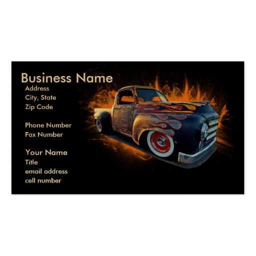 Haulin' Ass Pack Of Standard Business Cards