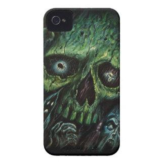 Haunted Attraction Skulls Ghosts Vintage iPhone 4 Case