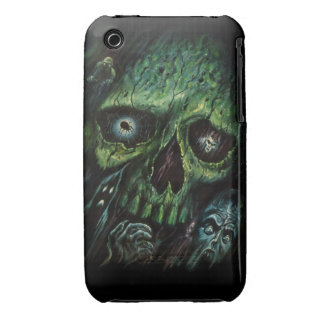 Haunted Attraction Skulls Ghosts Vintage iPhone 3 Case-Mate Cases