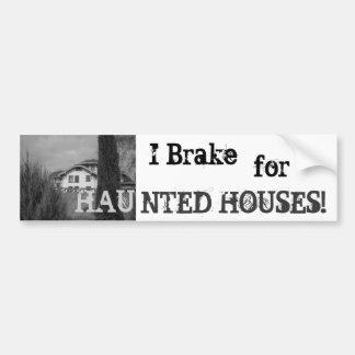 Haunted Bumper Sticker