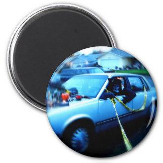 Haunted Car Magnet