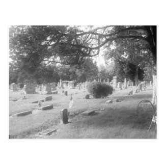 Haunted Cemetery by Bob Markin Postcard