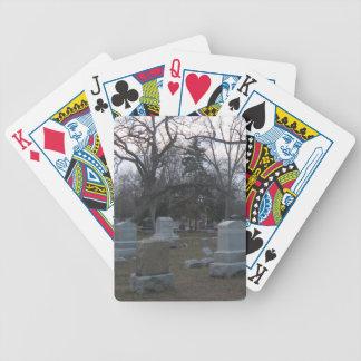 Haunted Cemetery Poker Deck