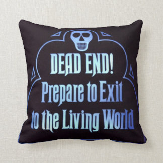 Haunted Dead End Pillow Cushions