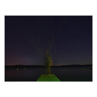 Haunted dock photo print