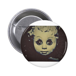 haunted doll products 6 cm round badge