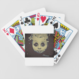 haunted doll products bicycle playing cards