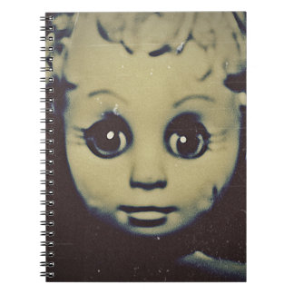 haunted doll products note book