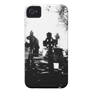 Haunted Gothic Cemetery Graveyard iPhone 4 Cases