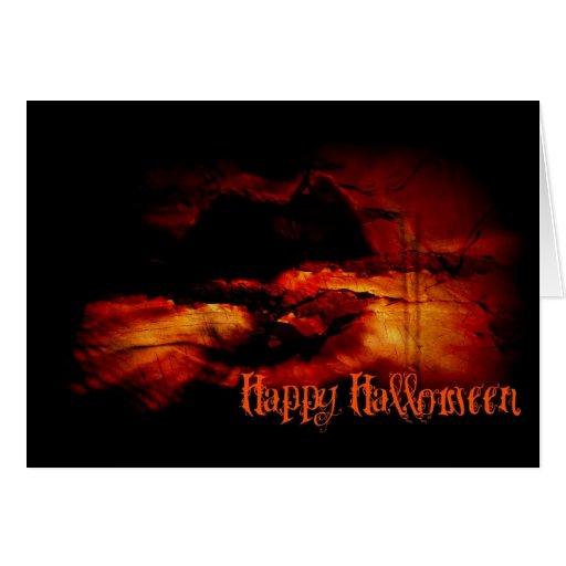 Haunted Halloween Cards