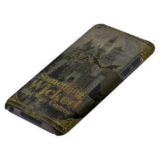 Haunted Halloween Castle iPod Case-Mate Case