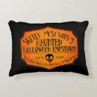 Haunted Halloween Emporium Accent Pillow
