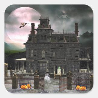 Haunted Halloween House 2 Sticker