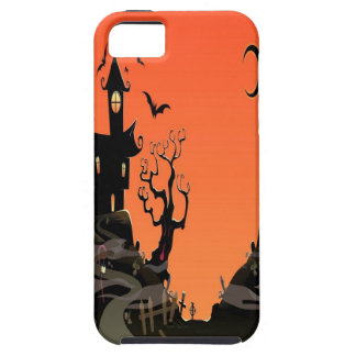 Haunted Halloween House iPhone 5 Case