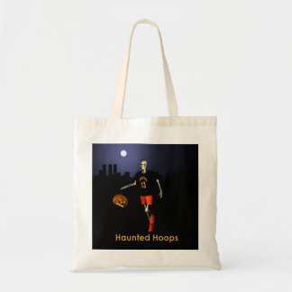 Haunted Hoops Budget Tote Bag