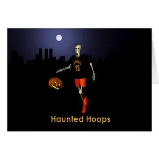 Haunted Hoops Card