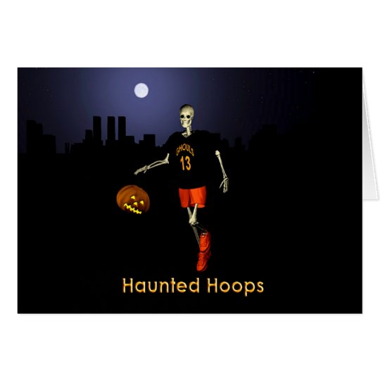 Haunted Hoops Card