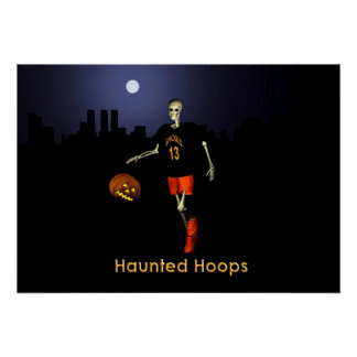 Haunted Hoops Poster