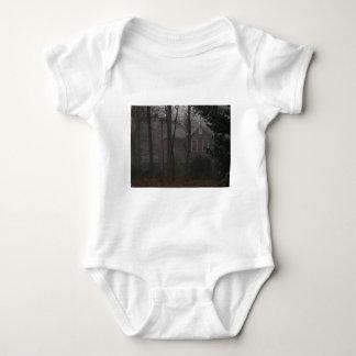 haunted house baby bodysuit