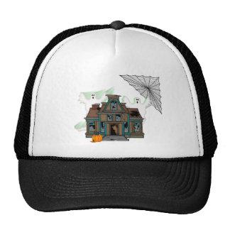 Haunted House Trucker Hats