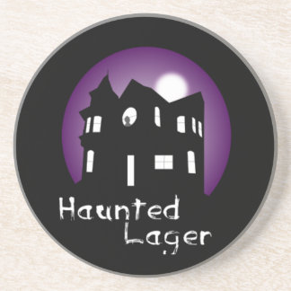 Haunted House Coaster