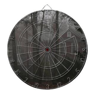 haunted house dartboard