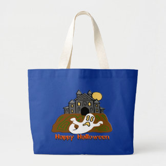 Haunted House Ghost Halloween Bags